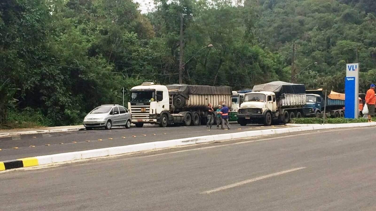 Acidente com Gás Amônia em Cubatão - Trânsito