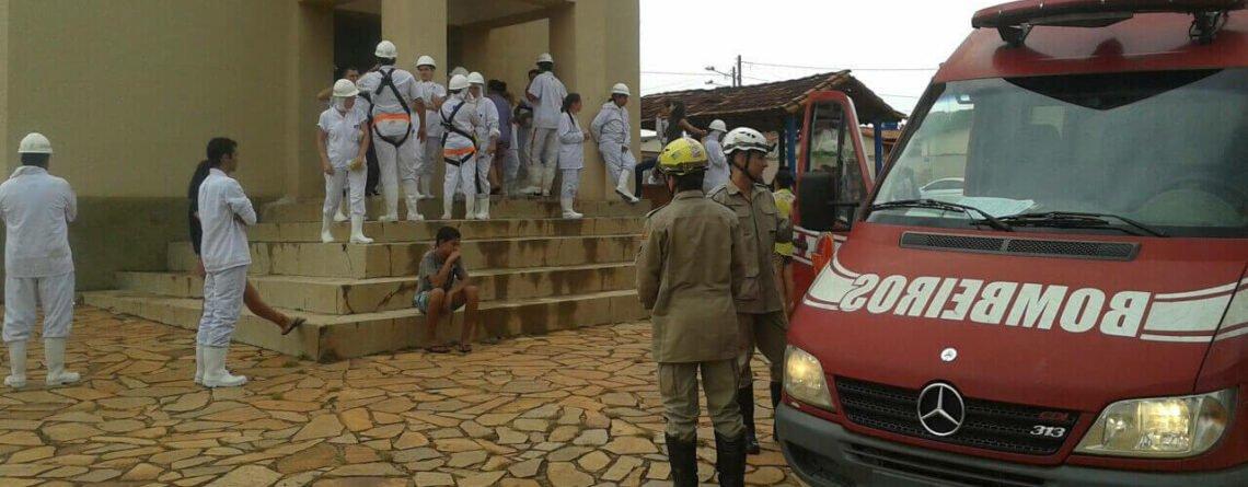 30 funcionários foram intoxicados com Amônia