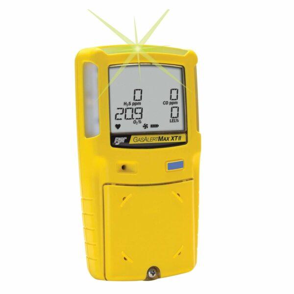 Detector de Gas Portatil Multigas 4 Gases Gasalert MaxXt II