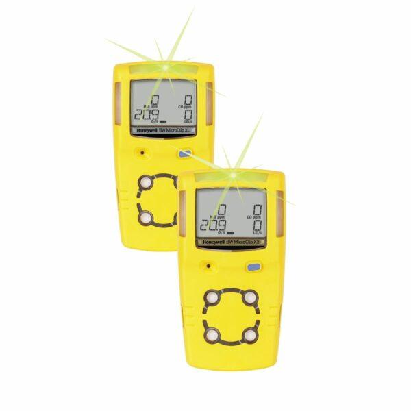 Detector de Gás Portátil 4 Gases GasAlert MicroClip