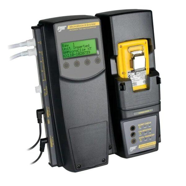 Detector de Gás Portátil 4 Gases GasAlert MicroClip - Dockstation