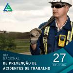 Dia Nacional da Prevenção de Acidentes de Trabalho